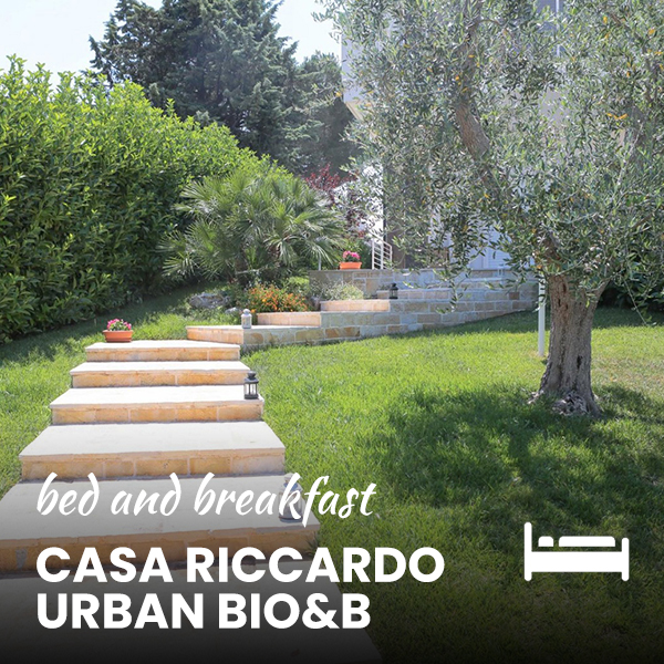 b & b casa riccardo urban bio&b in puglia