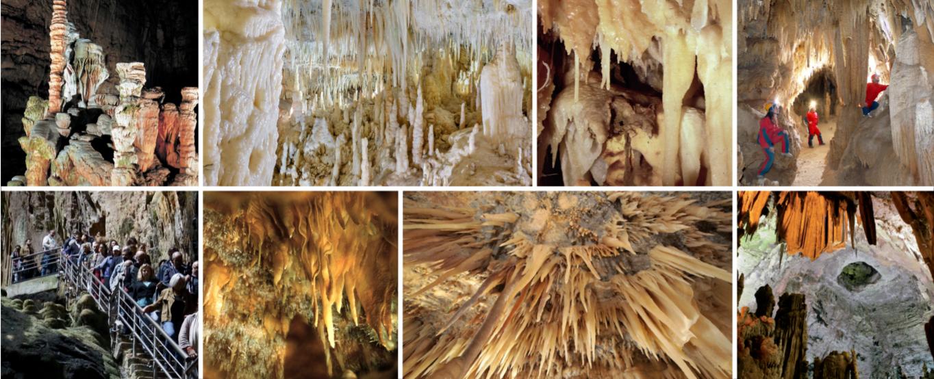 le grotte castellana, un sito carsico in puglia