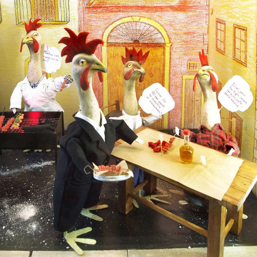 tradizione pugliese, la sagra del pollo